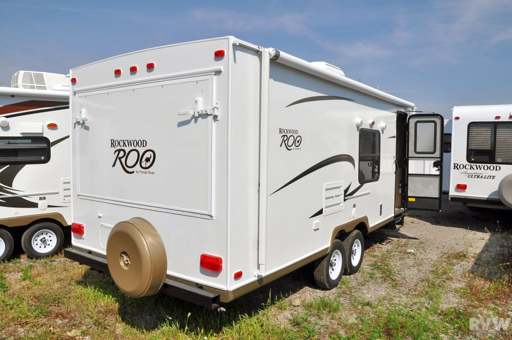 2011 Forest River Rockwood Roo 23SS Hybrid Camper   The ...