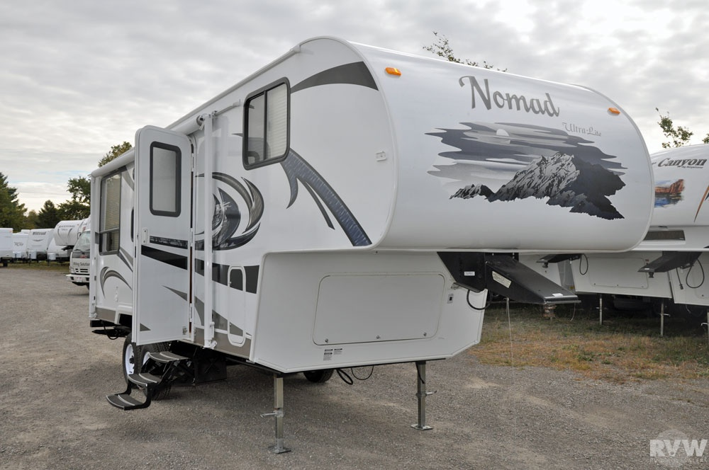 2011 Skyline Nomad 214 Fifth Wheel The Real
