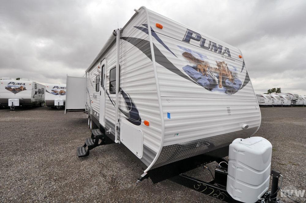 2012 Palomino Puma 31dbts Travel Trailer The Real