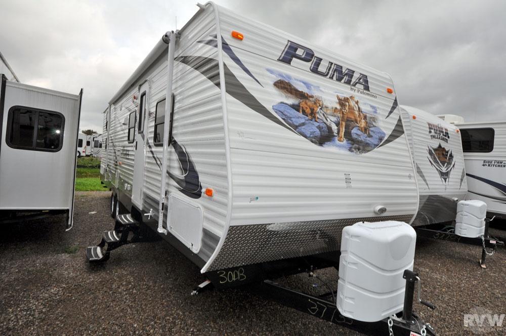 2012 Palomino Puma 30DBSS Travel Trailer | The Real ...