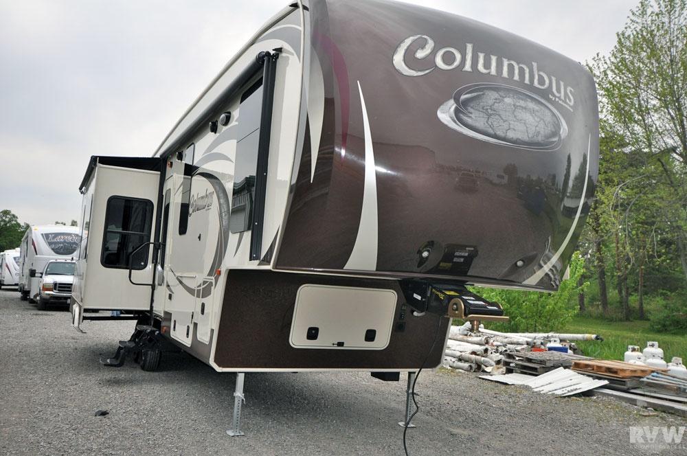 2013 Palomino Columbus 320rs Fifth Wheel The Real