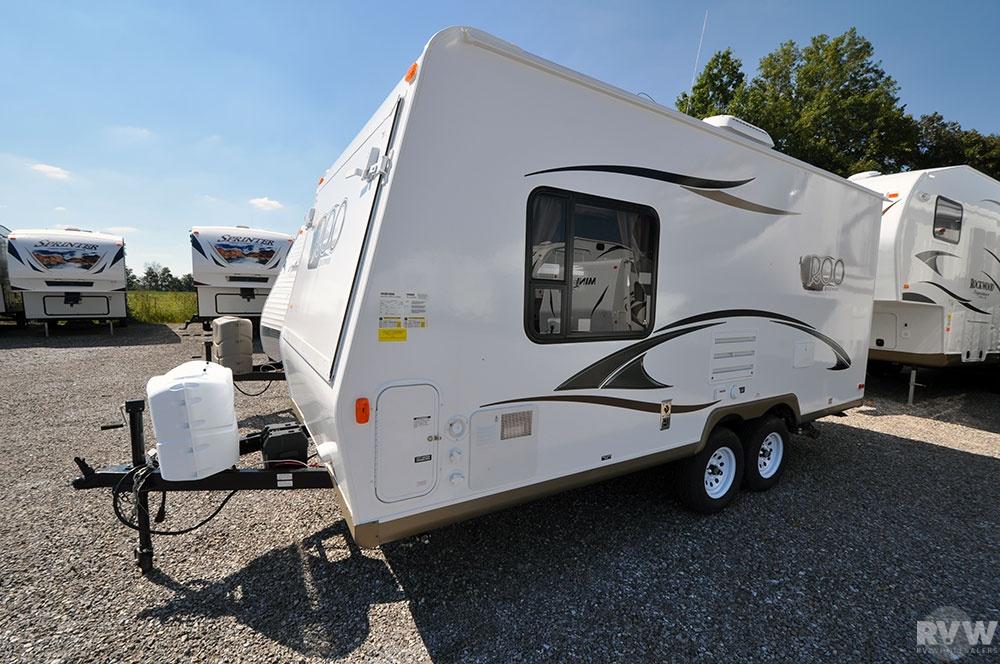 2013 Forest River Rockwood Roo 19 Hybrid Camper | The Real ...