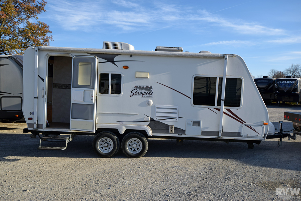 2006 Palomino Stampede 23sdsl Travel Trailer The Real