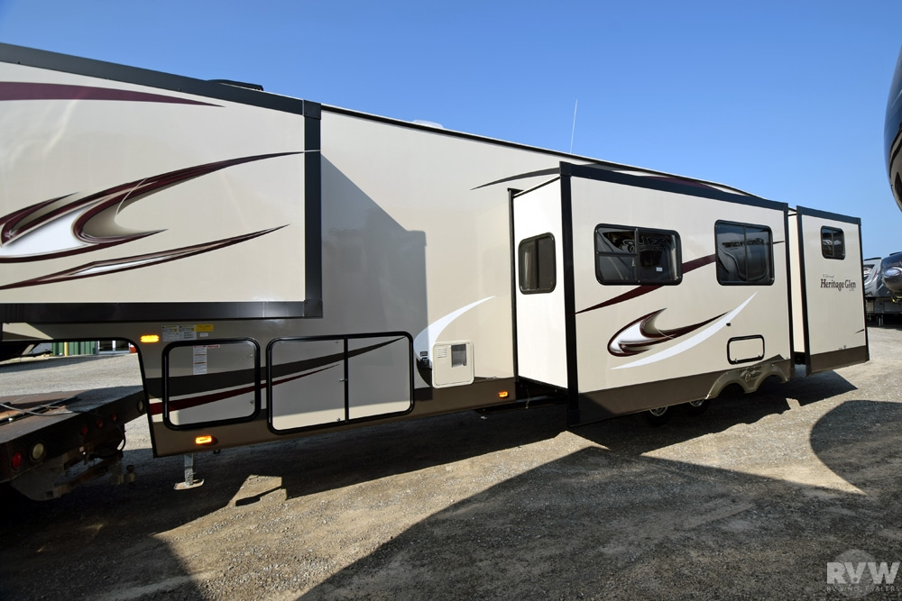 2015 Forest River Heritage Glen 356qbq Fifth Wheel The