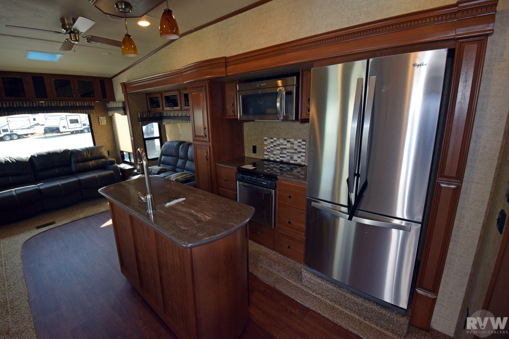 2015 Forest River Sandpiper 378fb Fifth Wheel The Real