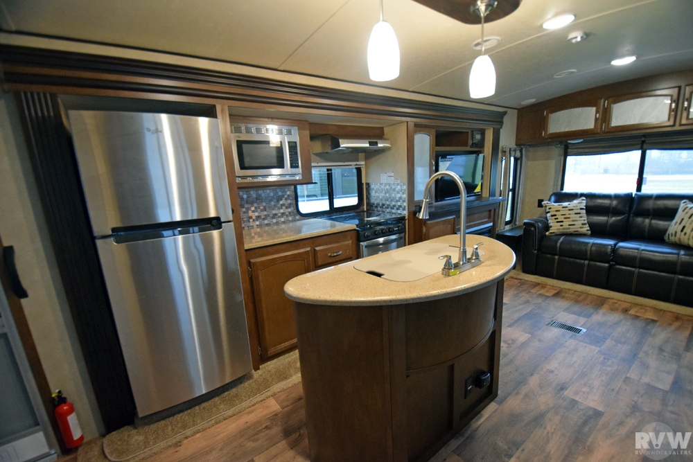 2016 Forest River Heritage Glen 272rl Travel Trailer The