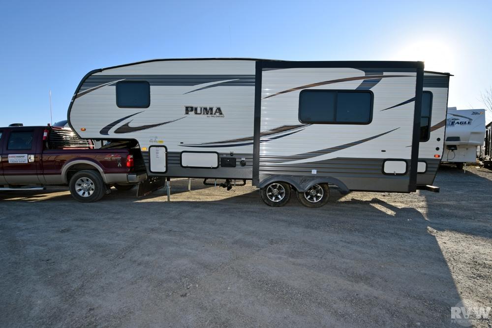 2016 Palomino Puma 253fbs Fifth Wheel The Real