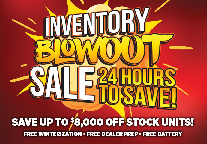 2018 Inventory Blowout Sale