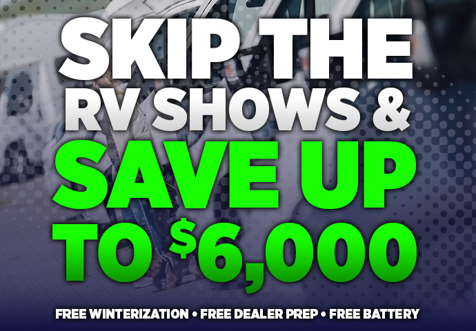 2018 Skip the RV Show Sale